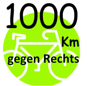 1000 km gegen Rechts