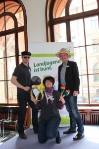 NLJ Landesvorstand und Volker Meyer (CDU)